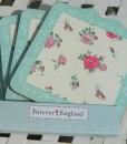 """Forever England"" Coasters (Set of 4) - Melissa Rose"