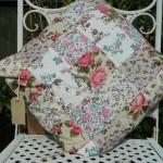 Patchwork cushion - royal slider