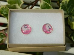 Handmade Liberty Earrings - Pink