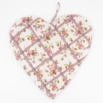 Vintage Chic Heart Shaped Memo Message Photo Board