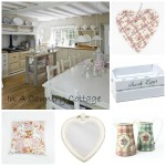 Collage - Country kitchen chic
