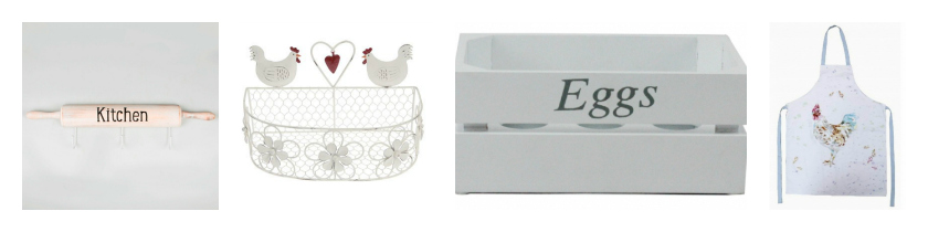 These shabby chic kitchen accessories will make a fab gift for mother's day